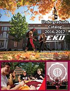 2016-2017 Undergraduate Catalog cover