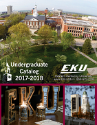 2017-2018 Undergraduate Catalog cover