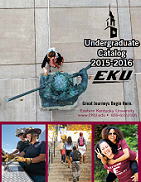 2015-2016 Undergraduate Catalog cover
